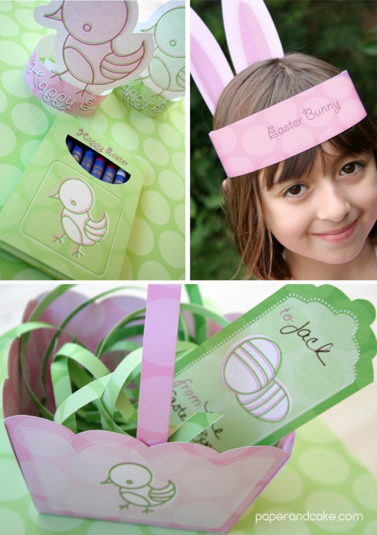 Easter Printable Party kit