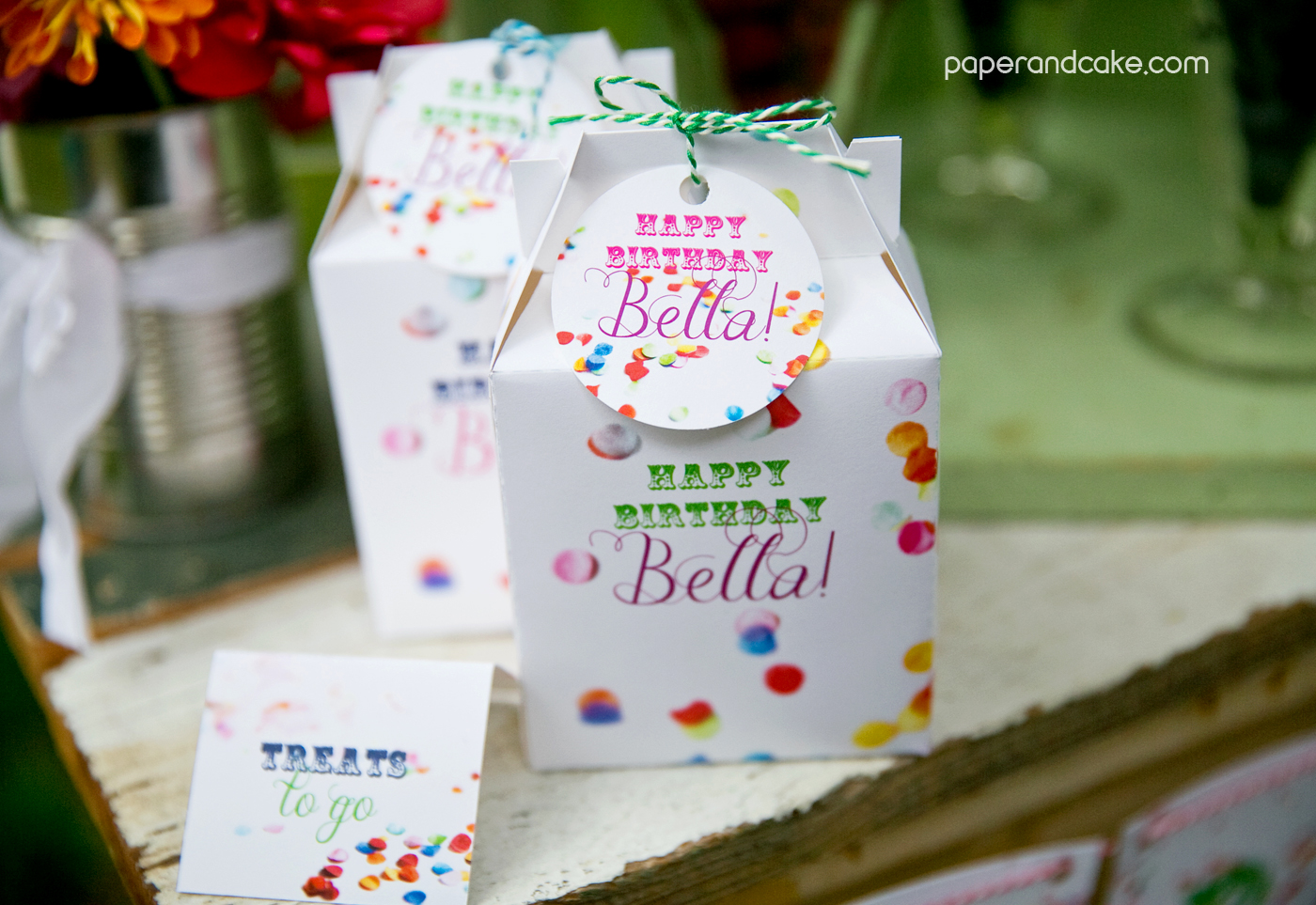 Confetti Birthday Party Decorations New Paper And Cake