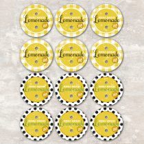 Lemonade Straw toppers
