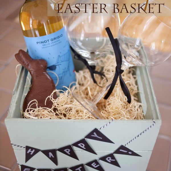 Classroom Holiday Ideas ~ A grown up easter basket paper and cake