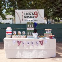 Baseball Printable Birthday Party
