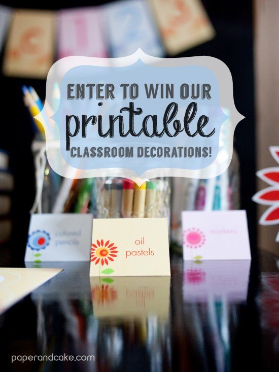 printable classroom decorations teacher supplies