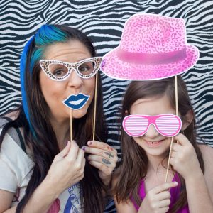 rock star printable photo booth props