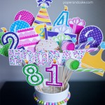 Birthday Party Printable Photo Props