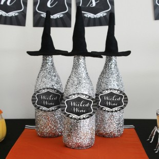Bewitching Chalkboard Halloween Printable Party