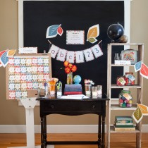 Mod Fall Printable Classroom Decorations