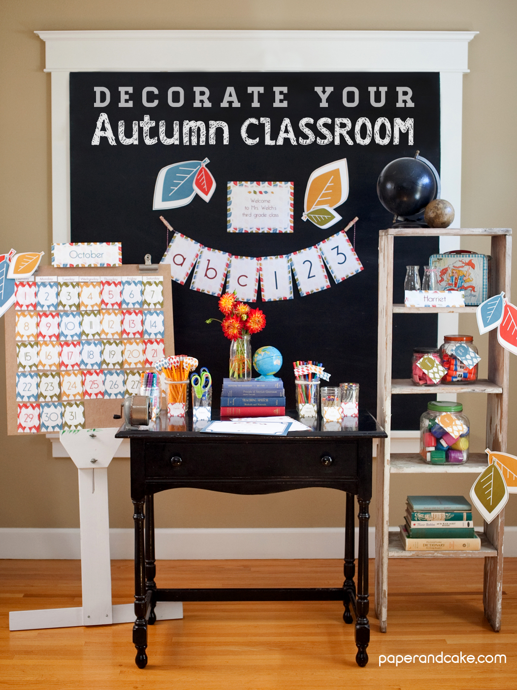 Christmas Classroom Decoration Printables ~ School decorations for teachers it s fall paper and