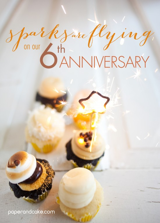 6th Anniversary GIVEAWAY custom party