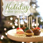 holiday cake pops