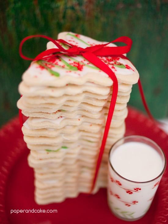 Milk and Cookies for Santa recipe