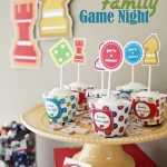 Family Game Night printable party