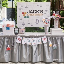 Science Printable Birthday Party
