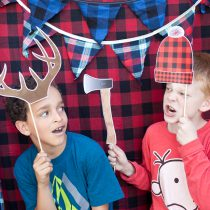 Camping Printable Photo Booth Props