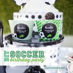 Soccer Birthday printable party decorations
