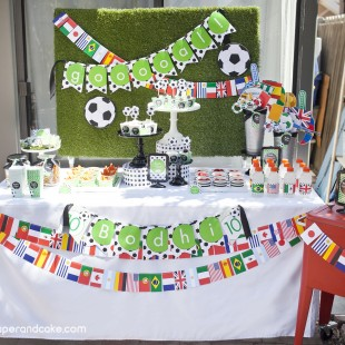 Soccer Printable Birthday Party
