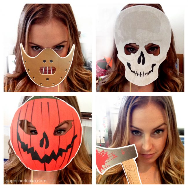 Haunted Horror Photo Booth Props DIY Kit