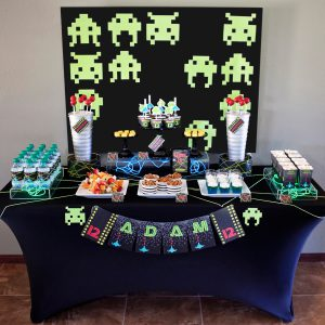 Video Game Printable Birthday Party