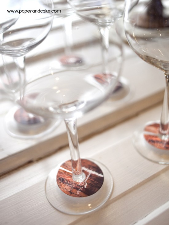 wine and cheese party glasses