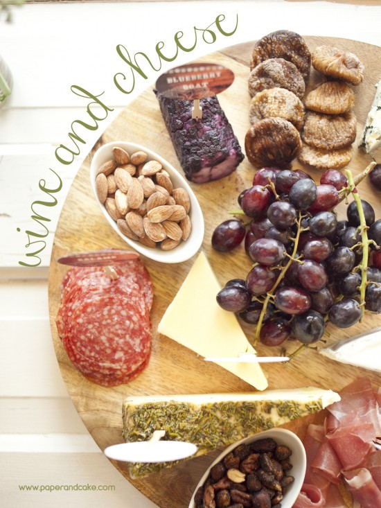 wine and cheese pin