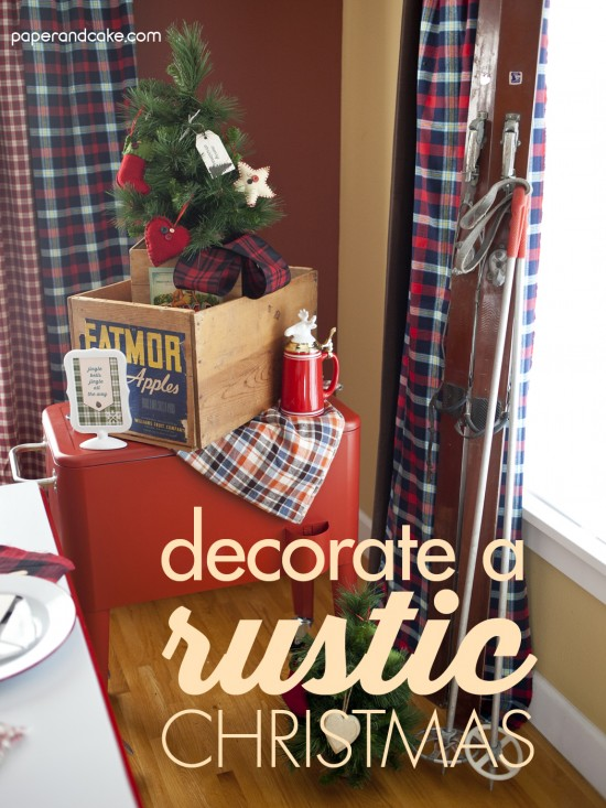 Rustic Christmas Party
