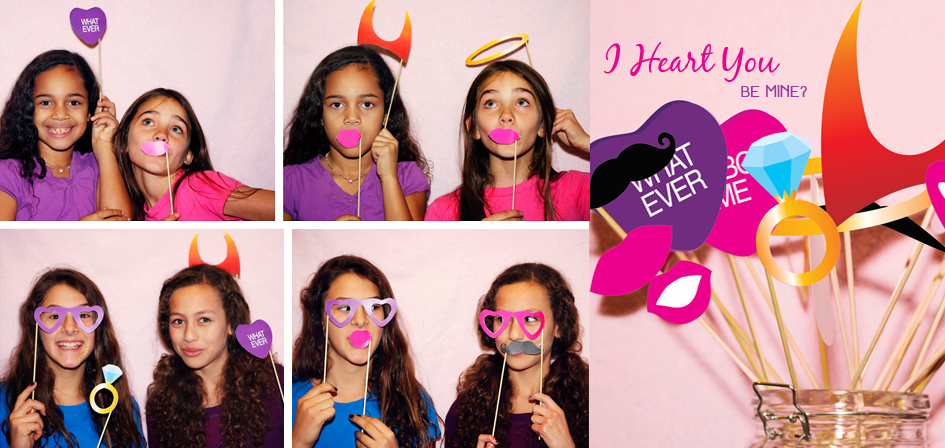 Valentines Day Printable Photo Booth Props