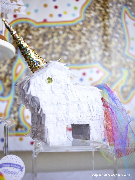 rainbows and unicorns printable party