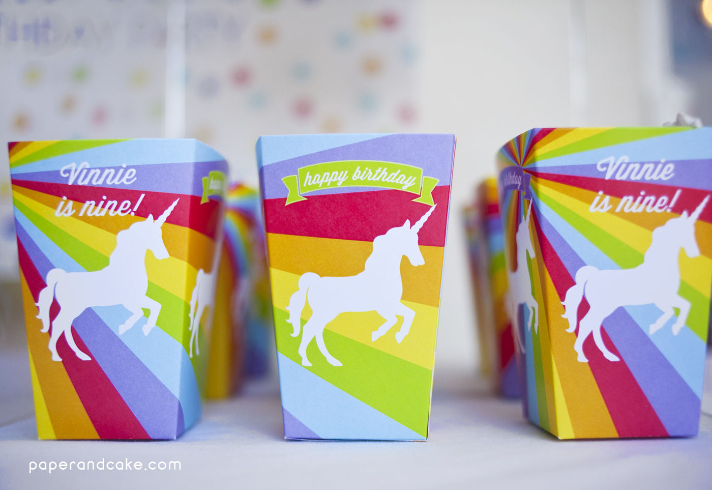 small paper goody bags