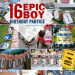 16 best boy party ideas!
