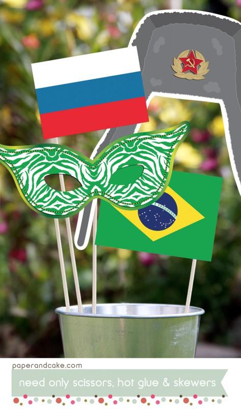 summer games brazil photo props1