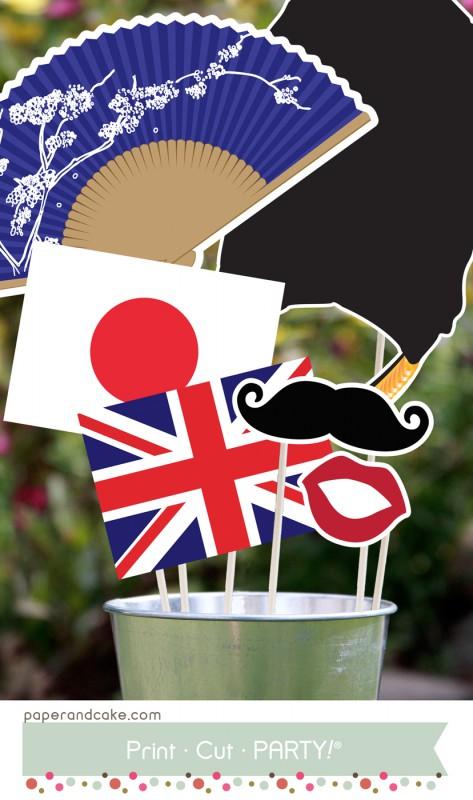 summer games japan photo props1