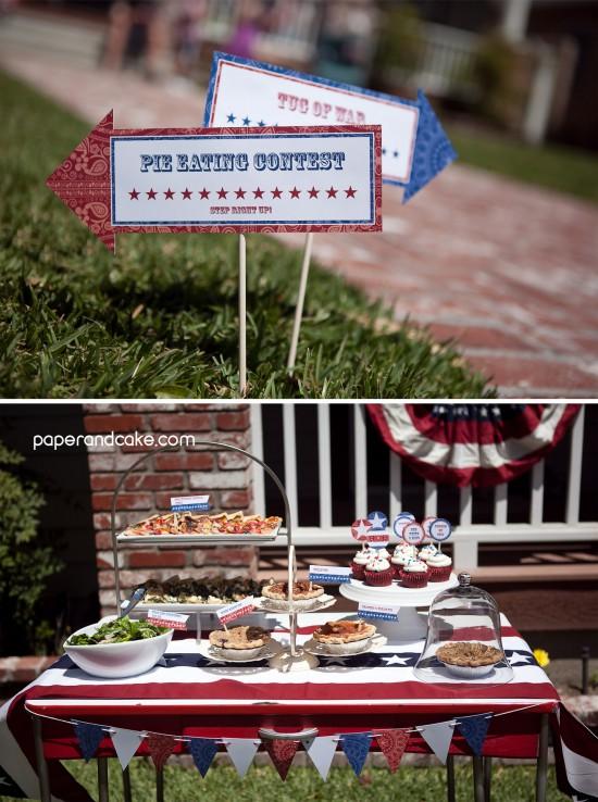 patriotic printable party decorations
