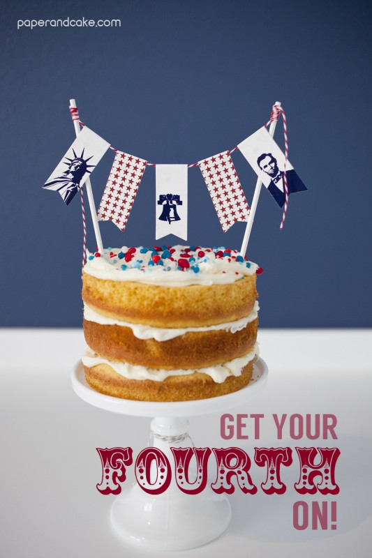 patriotic printable party decorations