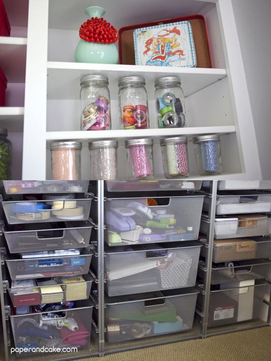 work table storage
