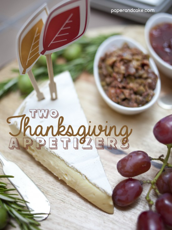 thanksgiving appetizer ideas