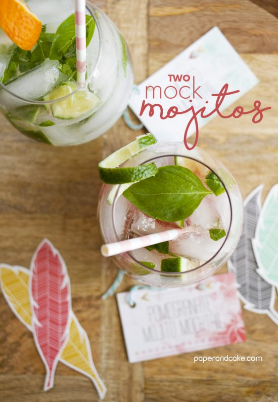 2 Mock Mojito Recipes