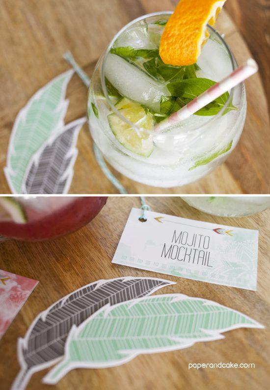 2 Mock Mojito Recipes