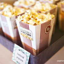 Vintage Drive-In Movie printable Birthday Party