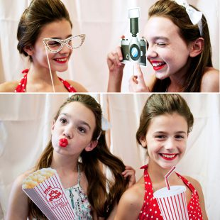Hollywood Movie printable photo booth props