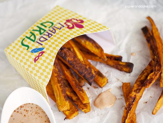 free printable fry box