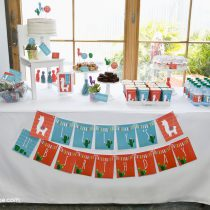 Alpaca Printable Birthday Party