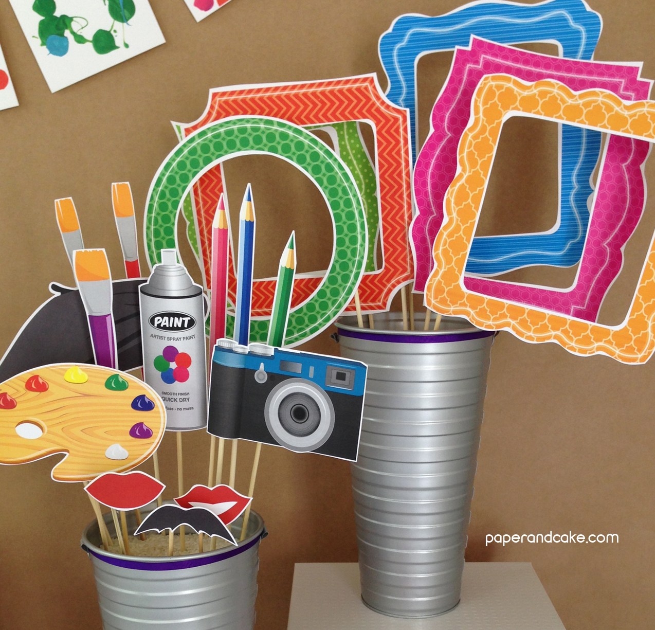 Artist Photo Booth Props DIY Kit
