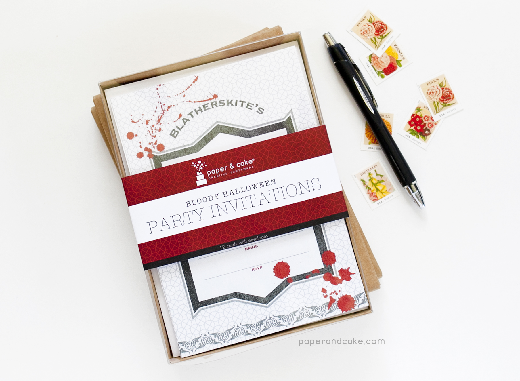 Magnificent Paper Party Invitations Frieze - Invitations and ...