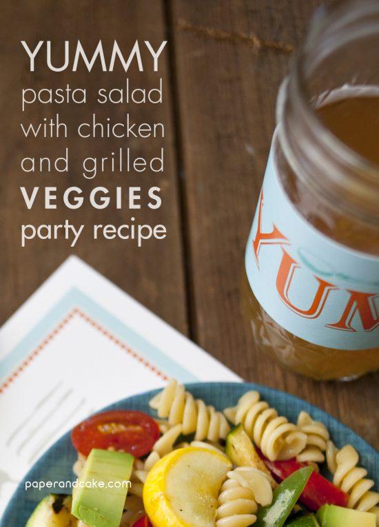 Bon Appetit Party Recipe