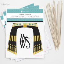 Egyptian Photo Booth Props DIY Kit
