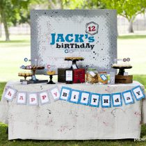Backyard Battle Printable Birthday Party