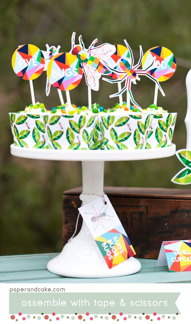 bugs printable party