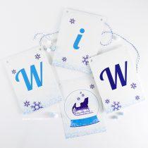 Winter Wonderland Pennant Banner