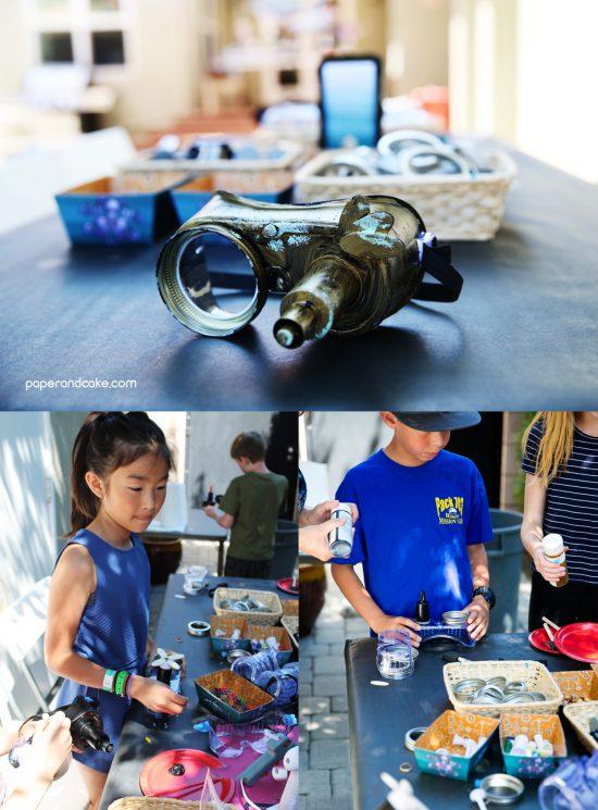 Steampunk Birthday Party Crafts
