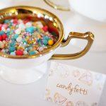 gemstones birthday party candy