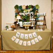 Succulents Printable Party